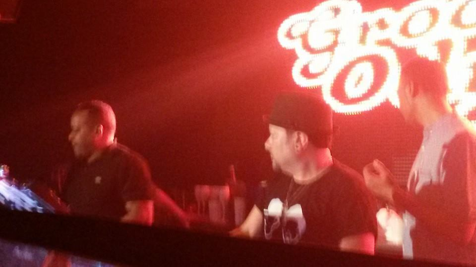 The Master Louie Vega at work last night at Ministry of Sound London for Groove Odyssey... !!!